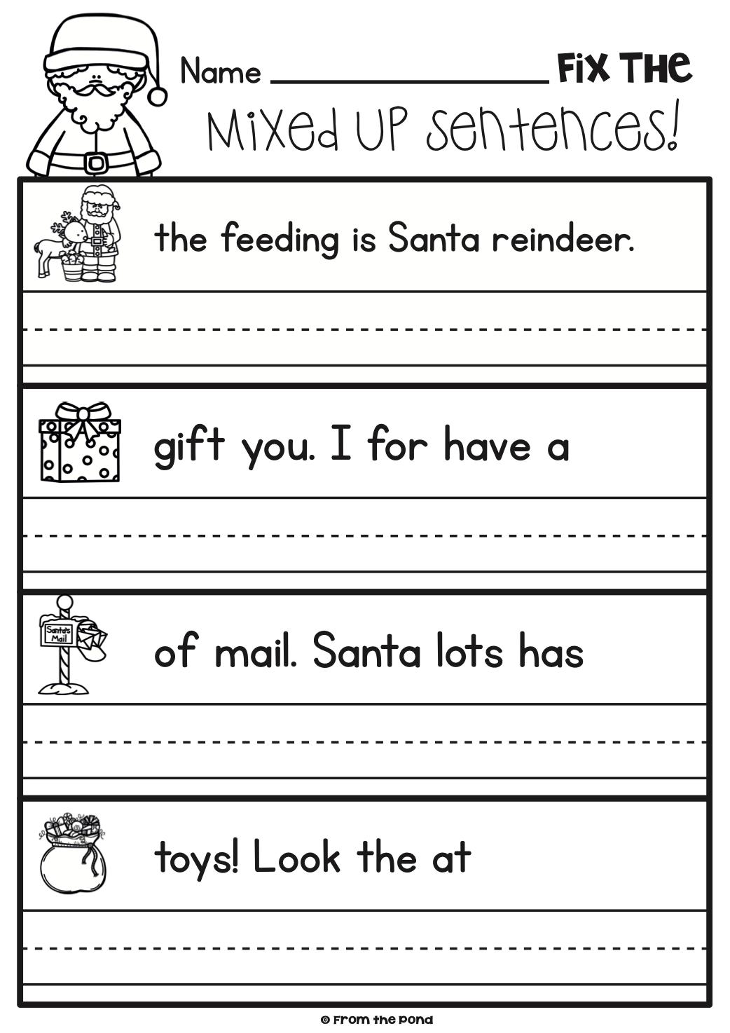 Math Worksheet : Christmas Activities For Kindergarten Math