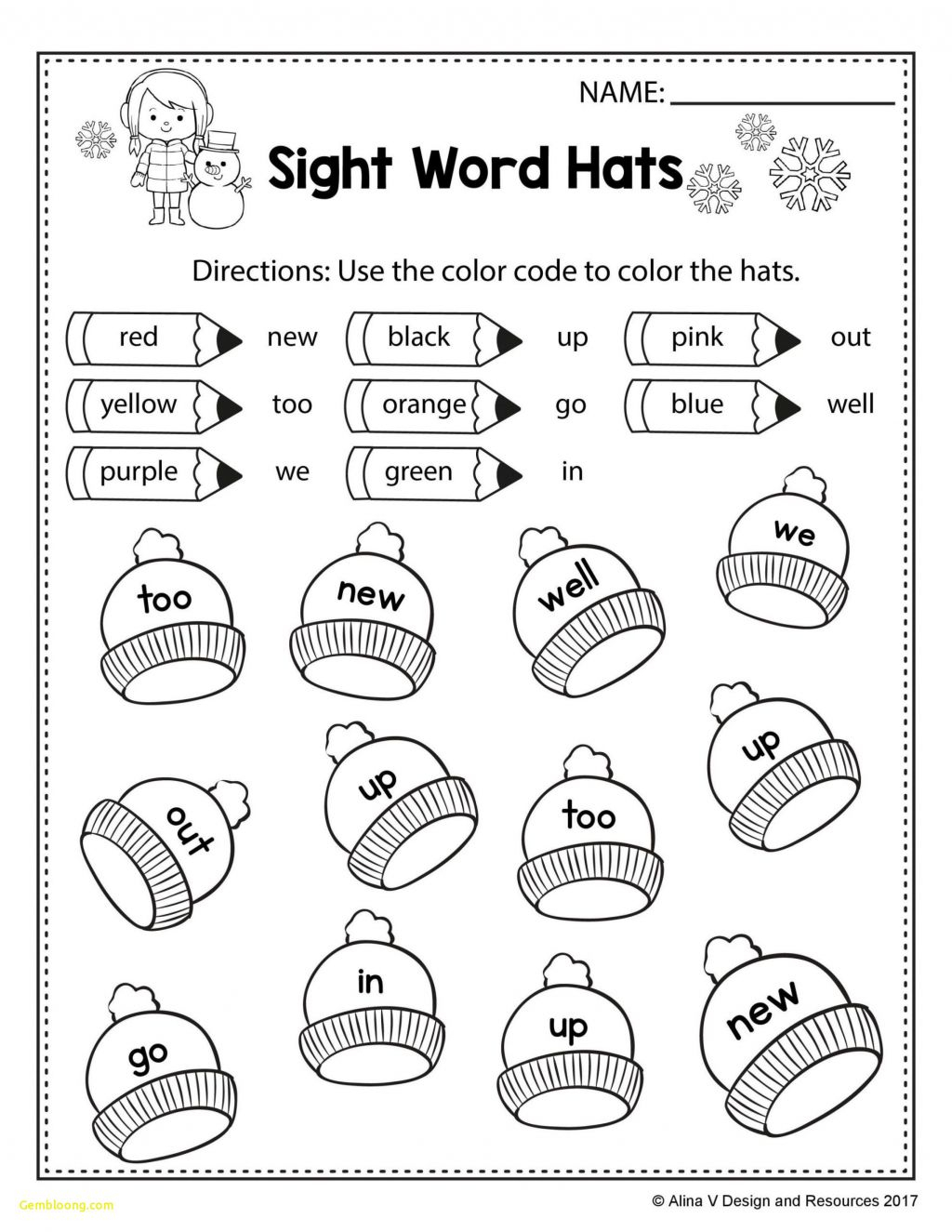 Math Worksheet ~ Christmas Colornumber Worksheets