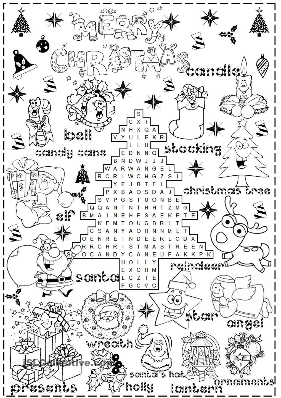 Merry Christmas | Christmas Worksheets, Christmas Lesson