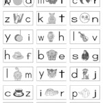 Phonics Worksheets For Kindergarten Free Koogra Throughout