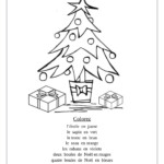 Printable French Writing Worksheets And Christmas School