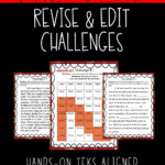 Revise And Edit Christmas Challenge In 2020 | Staar Writing