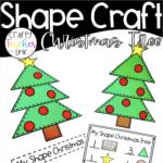 Shape Christmas Tree | Christmas Tree Crafts, Shape Crafts