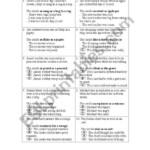 Simile And Metaphor Worksheet - Esl Worksheetawoods