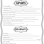 Similes & Metaphors Worksheet
