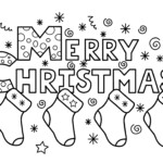 Staggering Printable Christmas Coloring Sheets Images Free
