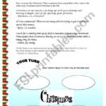 The Christmas Spirit - Esl Worksheetekoum