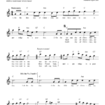 The Twelve Days Of Christmas (Lead Sheet / Fake Book) - Sheet Music