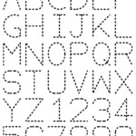 Traceable Alphabet | Preschool Tracing, Tracing Worksheets