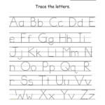 Uppercase And Lowercase Letters Tracing Worksheet | Letter