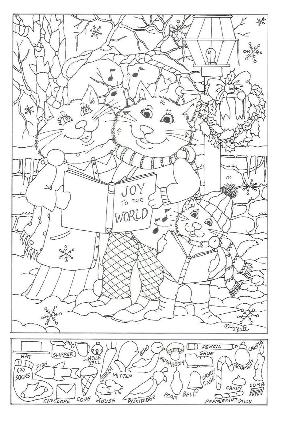 Verborgen Voorwerpen Kerstmis | Hidden Picture Puzzles