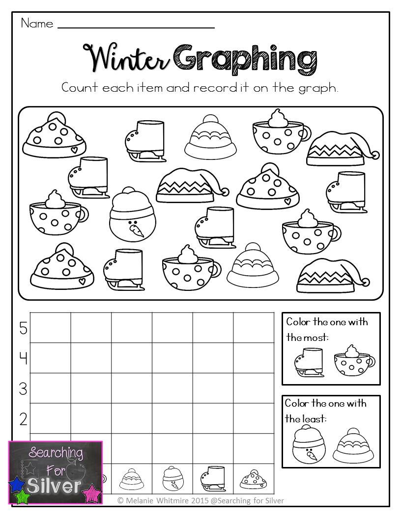 Winter Graphing And Other Fun Winter Printables For First