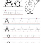 Worksheet ~ Alphabet Tracing Worksheet For Preschool And