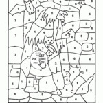 Worksheet ~ Christmas Math Coloring Sheets Pages Worksheets