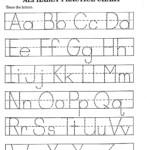 Worksheet ~ Free Alphabet Handwriting Worksheets Tracing