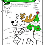 Worksheet ~ Free Printable Christmas Math Worksheets Pre K