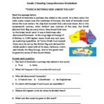 Worksheet ~ Grade Reading Comprehension Worksheets And