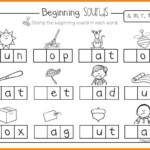Worksheet ~ Kindergarten Phonics Worksheets Letter Blending