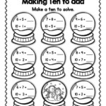 Worksheets : Christmas Math Making Ten To Mega Holiday