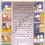 Writing : A Christmas Story - Esl Worksheetsruggy
