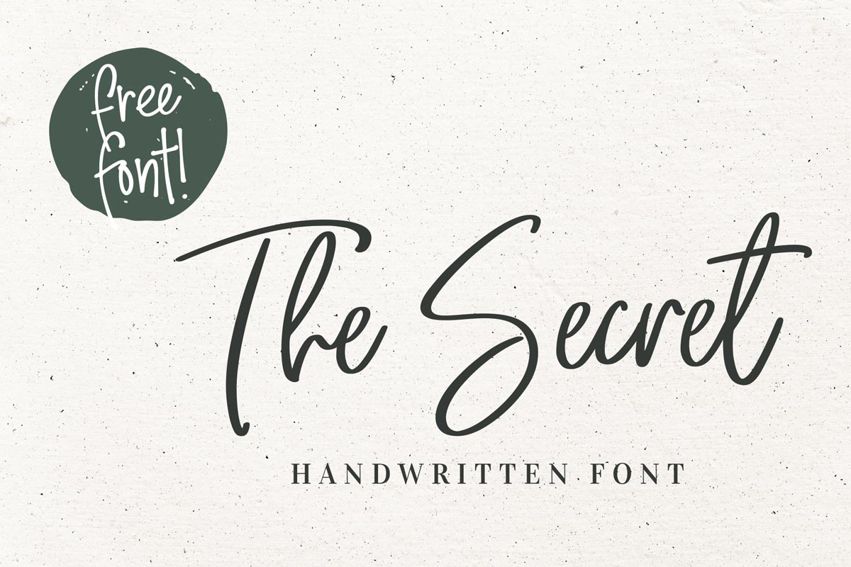 100 Best Free Handwriting Fonts For Designers 2021