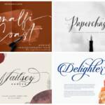 31 Delicate Calligraphy Fonts To Make Your Designs