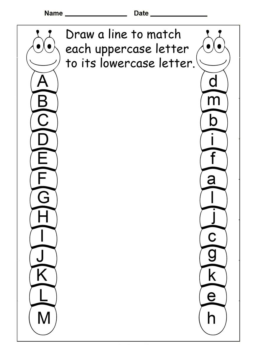 4 Year Old Worksheets Printable | Preschool Learning