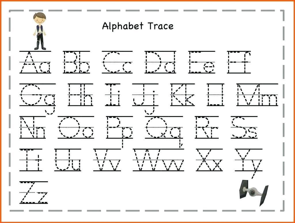 59 Alphabet For Kids To Trace Worksheet Image Ideas