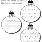 61 Christmas Tracing Worksheets Preschool Free Picture Ideas