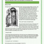 A Christmas Carol - Chapter 2 Worksheet
