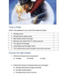 A Christmas Carol - English Esl Worksheets For Distance