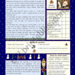 "A Christmas Carol"" - Simplified Version - Esl Worksheet"