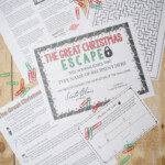 A Christmas Memory Answer Key The Great Christmas Escape