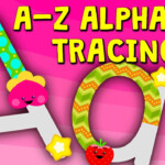 A-Z Alphabet Tracing (Uppercase Letters & Lowercase Letters)Kidloland