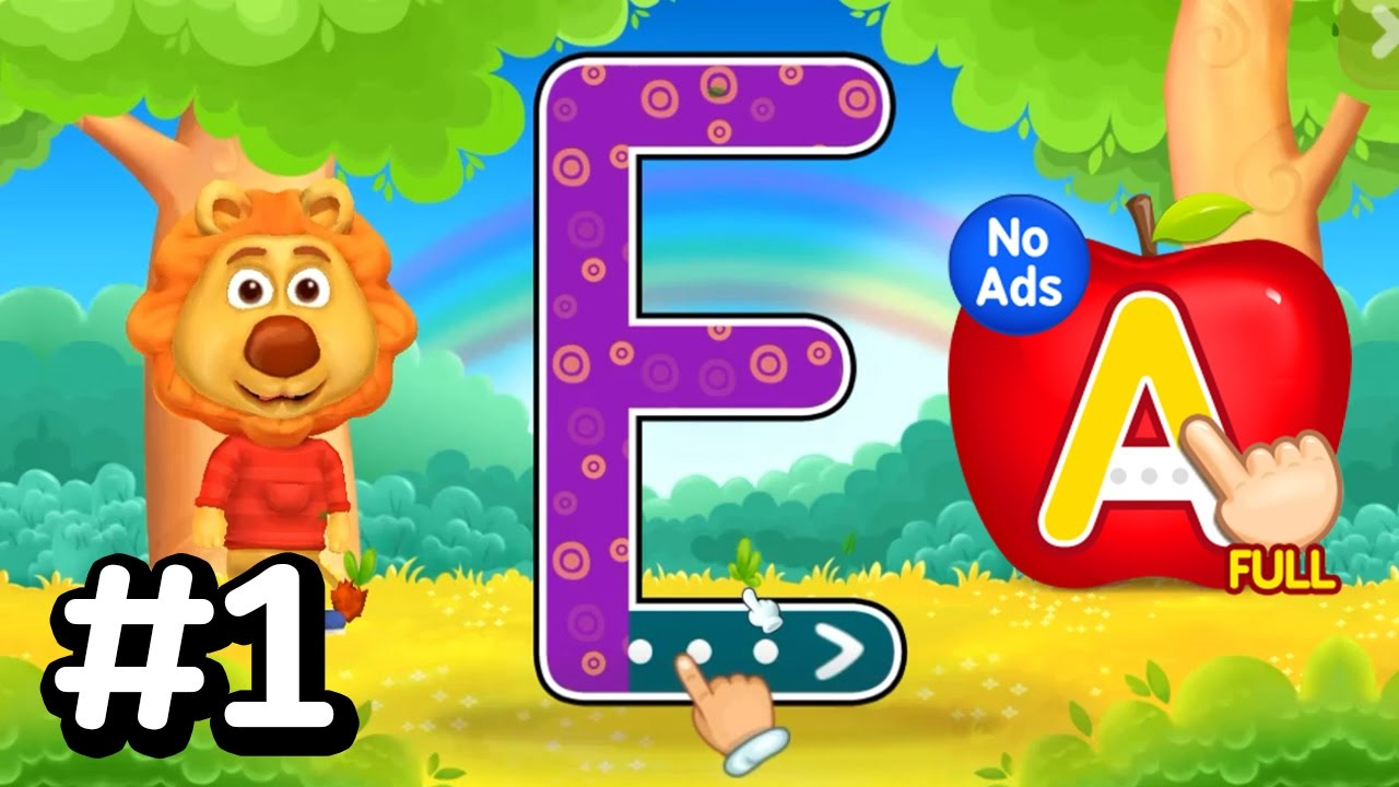 Abc Kids - Tracing & Phonics #1 ! Alphabet Abc Learn - Kids Learning Game