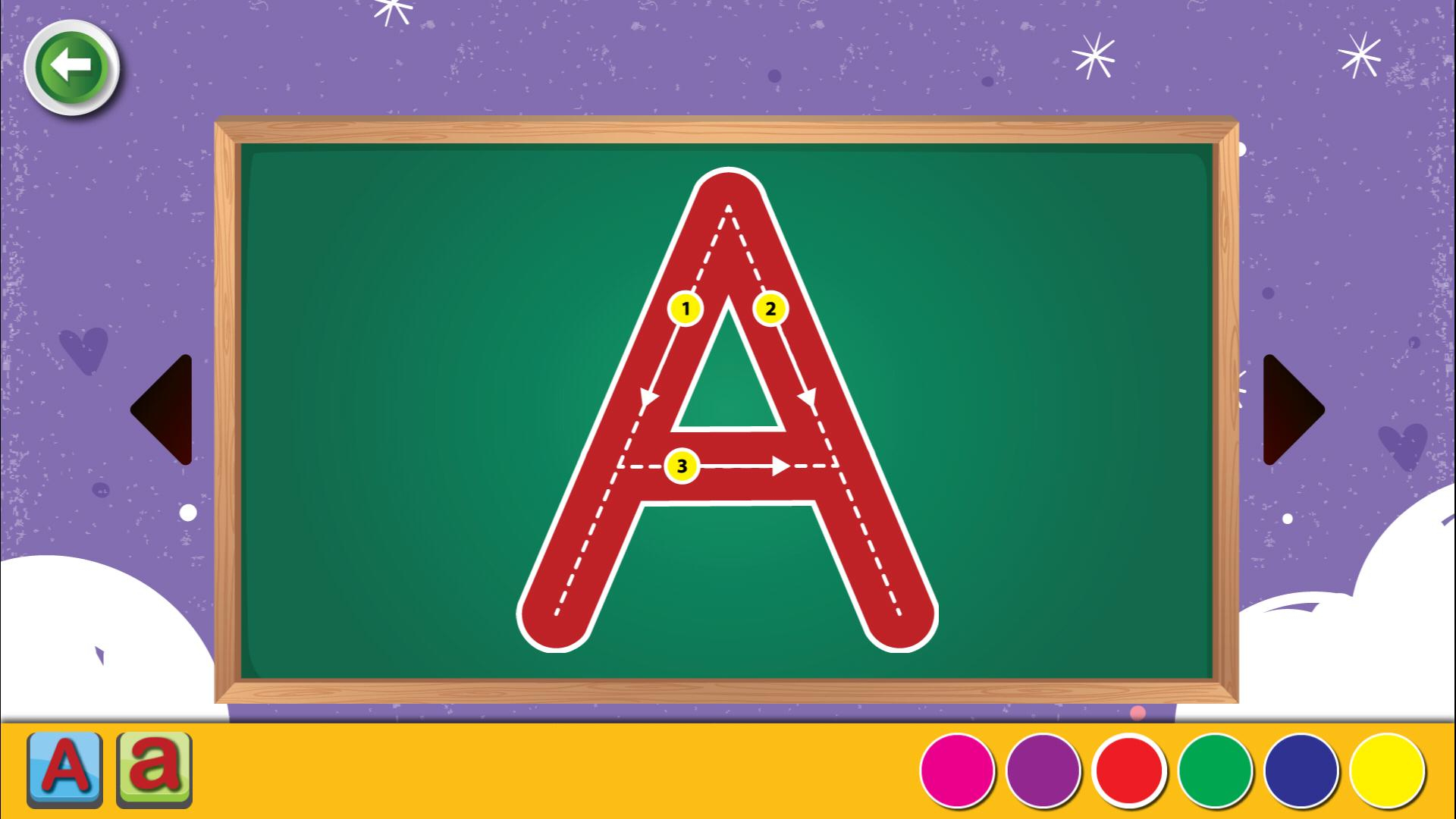 Abc Letter & 123 Number Tracing Games For Kids For Android
