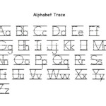 Alphabet Letter Tracing Printables   Activity Shelter