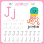 Alphabet Tracing Worksheet For Preschool And Kindergarten. Writing..