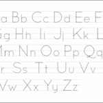 Amazing Printable Letter Tracing Image Ideas