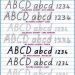 Australian School Fonts•instant Download Aussie Handwriting