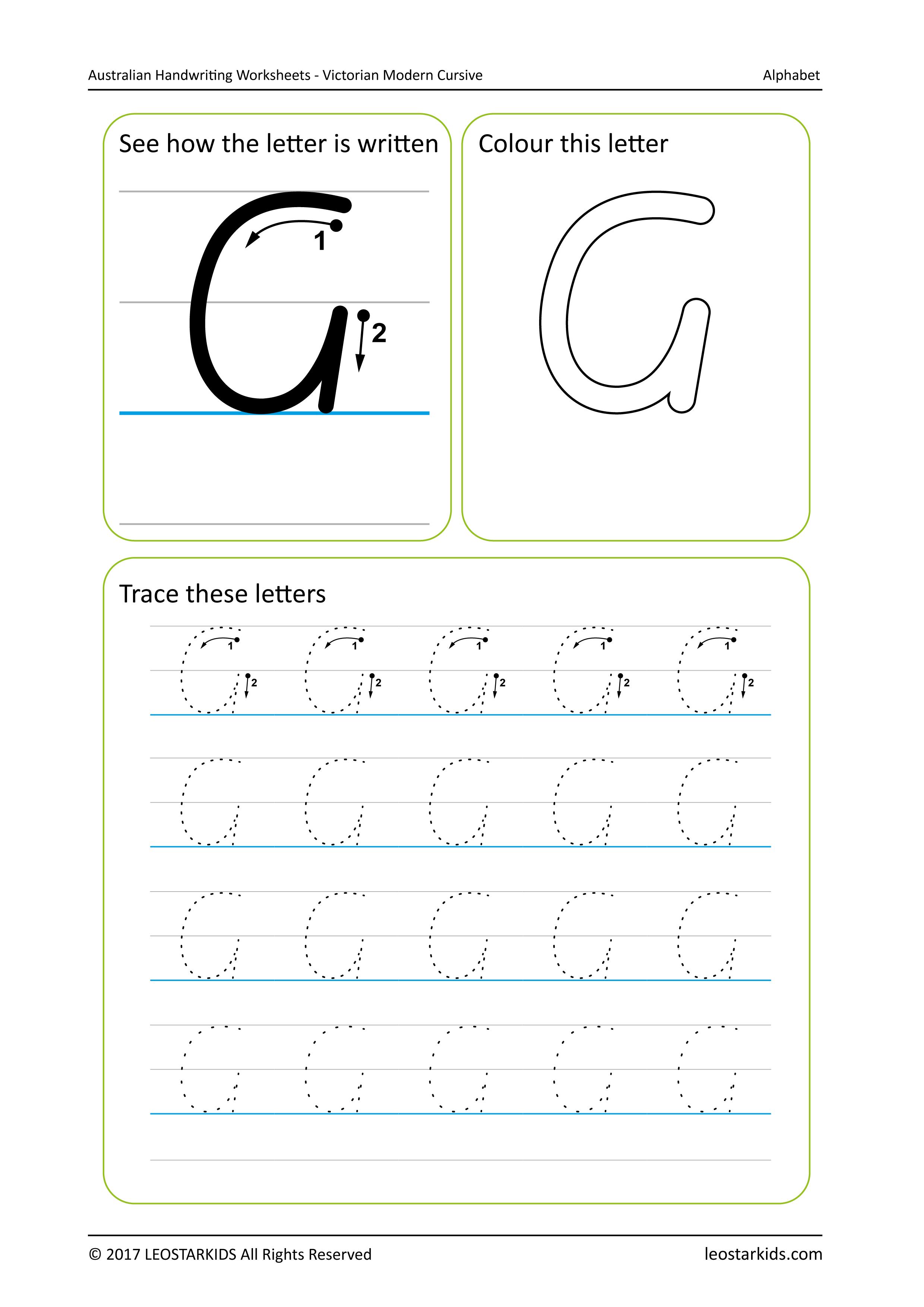 Calibri Handwriting Font Worksheets   Printable Worksheets