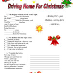 Chris Rea - Driving Home For Christmas - English Esl