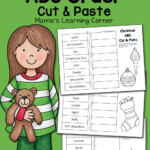 Christmas Abc Order Worksheets: Cut And Paste! - Mamas
