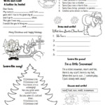 Christmas Activities - English Esl Worksheets For Distance