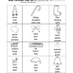 Christmas Activities: Spelling Worksheets