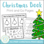 Christmas Activity Book Printables