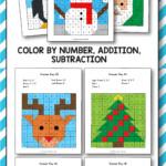 Christmas Addition And Subtraction - Christmas Math Mystery