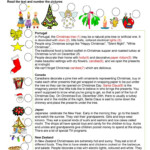 Christmas Around The World - English Esl Worksheets For