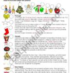 Christmas Around The World - Esl Worksheets.lefevre