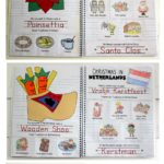 Christmas Around The World Interactive Notebook That